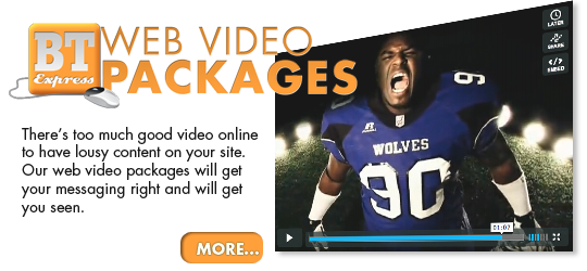 Web Video Packages